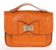 Equilibrium Small Satchel Bag with bow available in 2 colours Yellow and Orange 9936/7